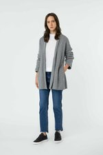Cardigan 2872 Heather Gray 4